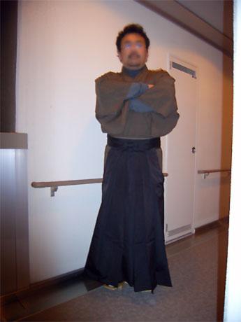 スカート男子:Aラインのロングスカート